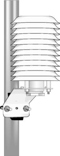 41002 12-Plate Gill Radiation Shield