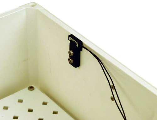 18166 Enclosure Door-Open Indicator Kit, Installed in Enclosure
