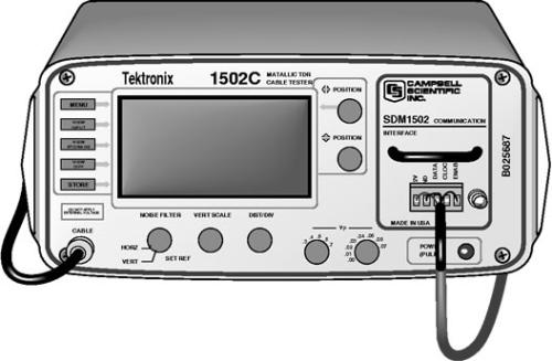 1502CCS Tektronix Cable Tester, modified