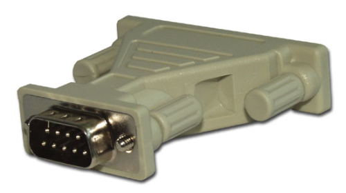 10871 RS-232 Data Cable Adapter, DB9 Male to DB25 Female