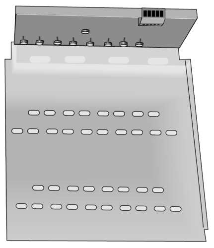 SDMX50LP 50 Ohm Coaxial Multiplexer with 10 x 12 Backplate (no enclosure)