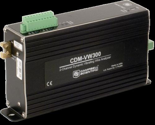 CDM-VW300 2-Channel Dynamic Vibrating-Wire Analyzer