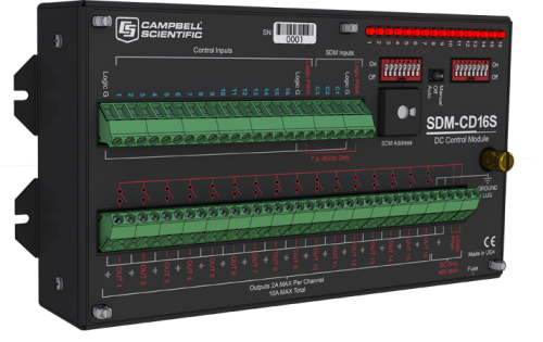 SDM-CD16S 16-Channel Solid-State DC Controller
