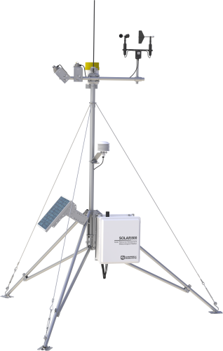 Stations de monitoring solaire