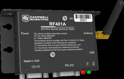 RF401A 900 MHz Spread-Spectrum Radio