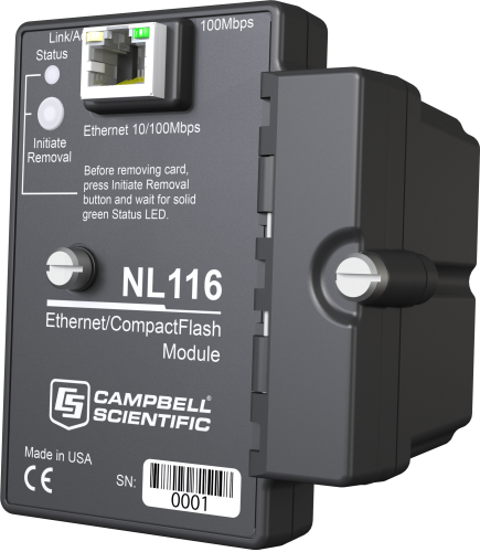 NL116 Ethernet Interface and CompactFlash Module