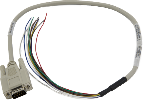 17855 Serial Cable, DB9 Male to Pigtail