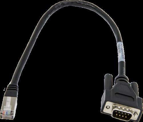 31055 Câble de données CPI/RS-232, RJ45 à DB9 Mâle