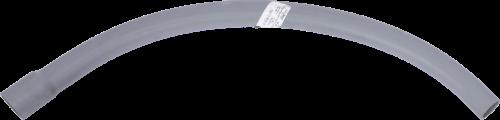 10754 Gray PVC Coupling, 90 Degree Elbow, 18 in. Radius