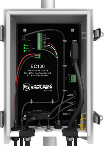 EC100 Replacement Gas Analyzer Electronics with Enclosure