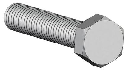 20635 Screw 1/4-20 x 2.250 Cap Hex, Silicon Bronze