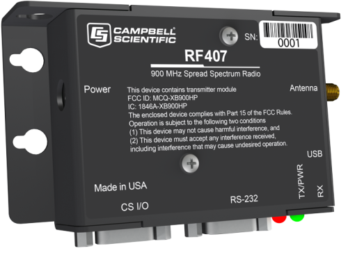RF407 900 MHz Spread-Spectrum Radio