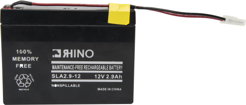 6572 21XL Replacement 12 V Sealed Rechargeable Battery and Connector Assembly