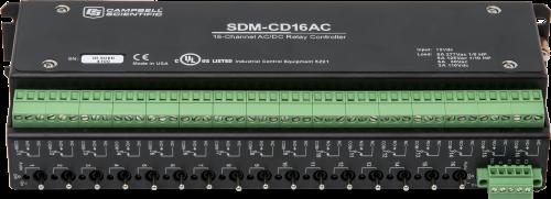 SDM-CD16AC Contrôleur de relais 16 voies CA/CC