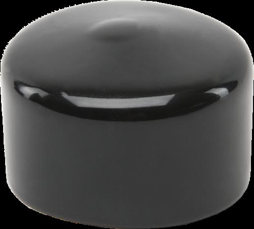 20610 Black Vinyl Pipe Cap 1-1/2 x 1