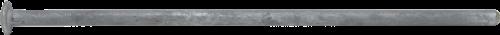 17049 Galvanized Steel Grounding Spike 1/2 x 16