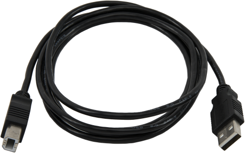 17648 USB Cable, Type A Male to Type B Male, 6 ft