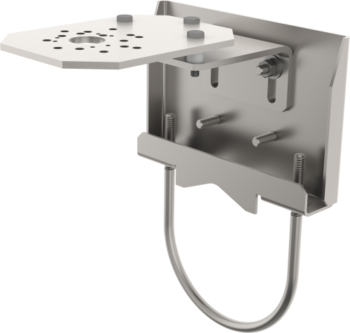 CM265 Adjustable Solar Sensor Mounting Kit for Circular Torque Tubes