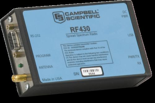 RF430 900-MHz Spread-Spectrum Radio