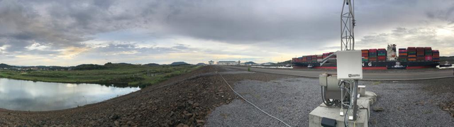 Geotechnical station at new Cocoli Locks, near Cocoli, Panama