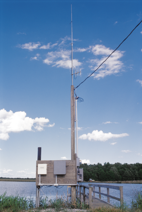A Campbell Scientific CR10X Monitoring and Control system eliminates the need to manually check DO concentrations several times a night. Alarms are sent via RF to a computer.