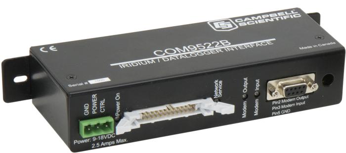 Modem et interface pour satellite Iridium COM9522B