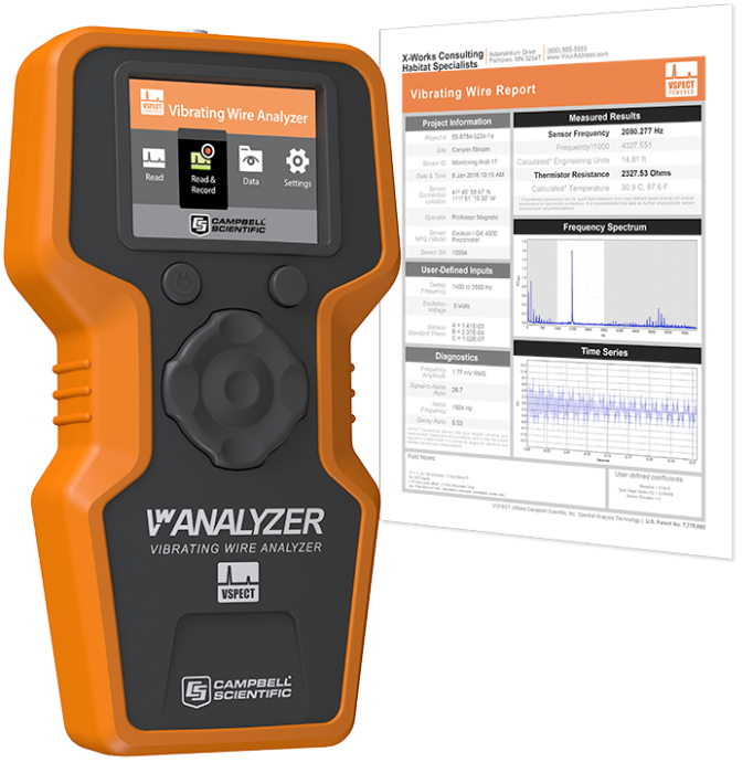 VWAnalyzer with sample report