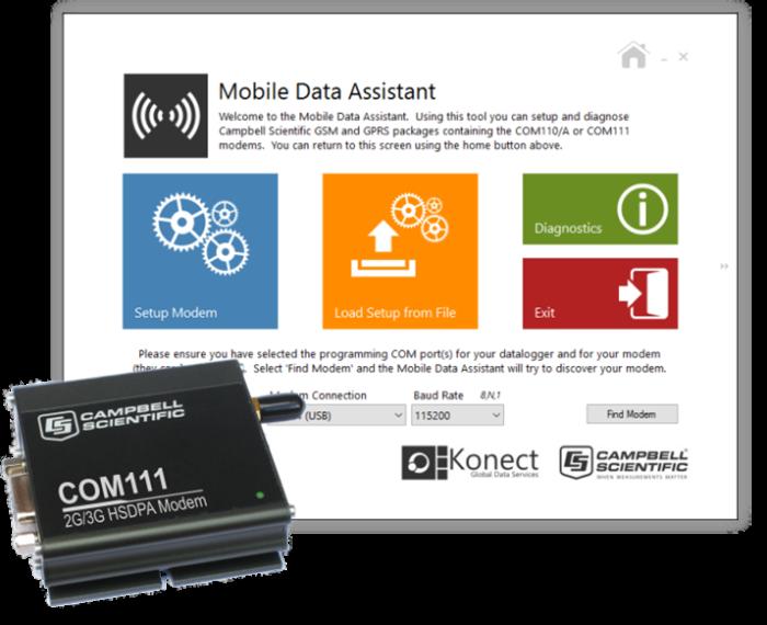 Mobile Data Assistance & COM111