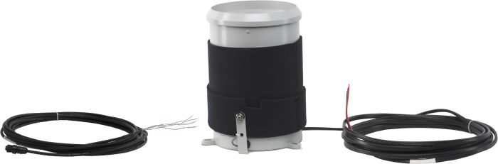 CS700H-L heated rain gage and cable