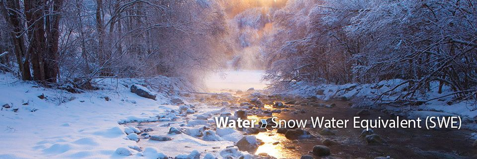 Snow Water Equivalent (SWE) Measurement What is Snow Water Equivalent and how can it be used for the management of water resources and flood forecasting