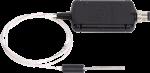 <strong>cs250dm</strong> pt-1000 klasse a, präziser lufttemperatur-sensor mit digitaler modbus rs-485 ausgabe